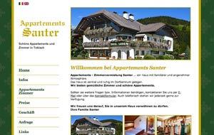 Appartments Santer